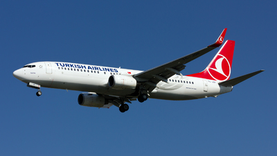 TC-JGP - Boeing 737-8F2 - Turkish Airlines