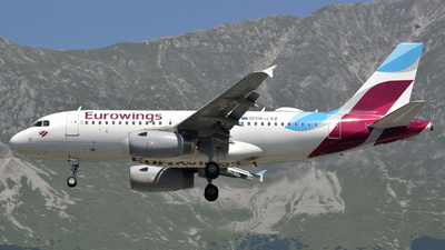 OE-LYZ - Airbus A319-132 - Eurowings Europe