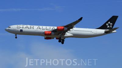 OY-KBM - Airbus A340-313X - Scandinavian Airlines (SAS)