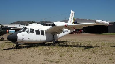 ZS-FIN - Piaggio P.166S Albatross - Private