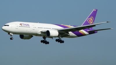 HS-TJU - Boeing 777-2D7(ER) - Thai Airways International