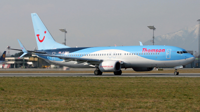 G-TAWL - Boeing 737-8K5 - Thomson Airways
