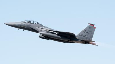 88-1693 - McDonnell Douglas F-15E Strike Eagle - United States - US Air Force (USAF)