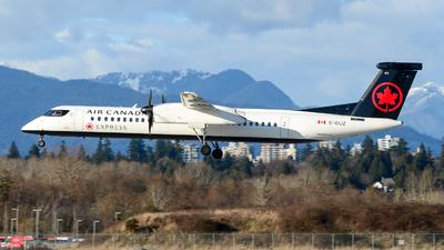 A picture of CGIJZ - De Havilland Canada Dash 8400 - Air Canada - © Chung Kwok