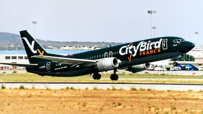 F-GLTG - Boeing 737-43Q - CityBird France