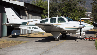 CC-POC - Beechcraft 95-B55 Baron - Private