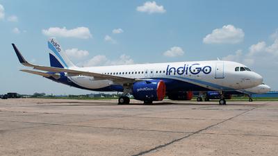 A picture of VTIZR - Airbus A320271N - IndiGo - © Shrey Chopra