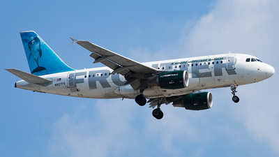 N927FR - Airbus A319-111 - Frontier Airlines