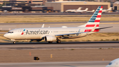 A picture of N965AN - Boeing 737823 - American Airlines - © Yixin Chen