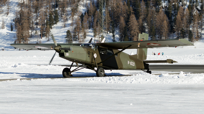 V-620 - Pilatus PC-6/B2-H2 Turbo Porter - Switzerland - Air Force