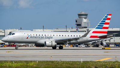 N414YX - Embraer 170-200LR - American Eagle (Republic Airways)