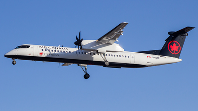 C-GGFP - Bombardier Dash 8-Q402 - Air Canada Express (Jazz Aviation)