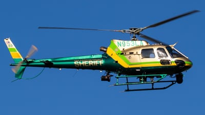 N953LA - Eurocopter AS 350B2 SuperStar - United States - Los Angeles County Sheriff