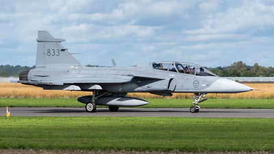 39833 - Saab JAS-39D Gripen - Sweden - Air Force