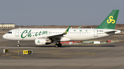 A picture of B1839 - Airbus A320214 - Spring Airlines - © Zhou Junfeng