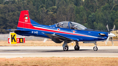 P143 - Pilatus PC-7 Mk.II - India - Air Force