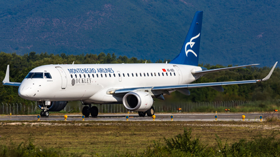 4O-AOD - Embraer 190-100LR - Montenegro Airlines