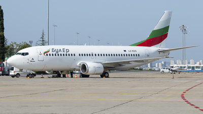 LZ-BOO - Boeing 737-341 - Bul Air