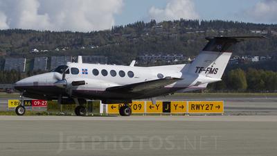 A picture of TFFMS - Beech B200 Super King Air - [BB1221] - © Erlend Karlsen