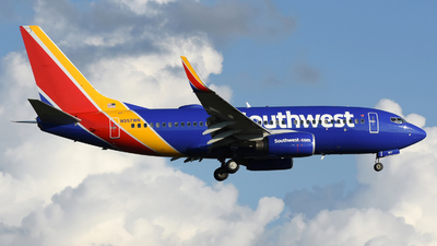 A picture of N957WN - Boeing 7377H4 - Southwest Airlines - © DJ Reed - OPShots Photo Team