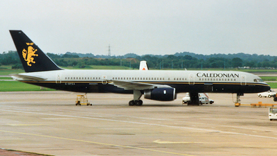 G-BPEA - Boeing 757-236 - Caledonian Airways