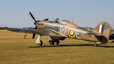 G-HURI - Hawker Hurricane Mk.XII - Private