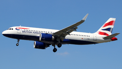 G-TTNI - Airbus A320-251N - British Airways