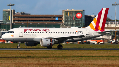 D-AKNV - Airbus A319-112 - Germanwings