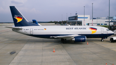 G-JMCP - Boeing 737-3T0(SF) - West Atlantic Airlines