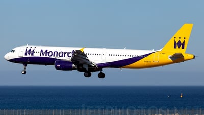 G-ZBAG - Airbus A321-231 - Monarch Airlines