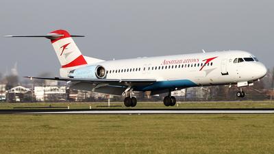 OE-LVN - Fokker 100 - Austrian Airlines