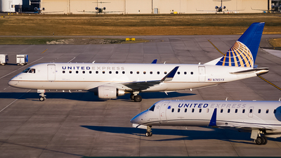 A picture of N745YX - Embraer E175LR - United Airlines - © Ksavspotter