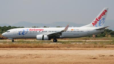 EC-KBV - Boeing 737-85P - Air Europa