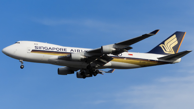 9V-SFN - Boeing 747-412F(SCD) - Singapore Airlines Cargo