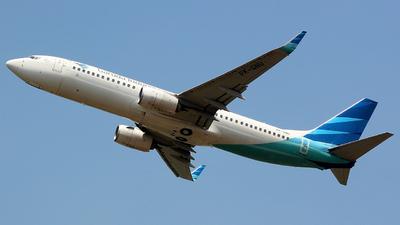 A picture of PKGNU - Boeing 7378U3 - Garuda Indonesia - © Panji Anggoro