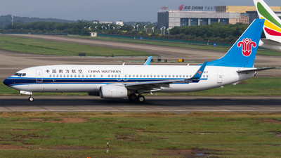 B-1917 - Boeing 737-81B - China Southern Airlines