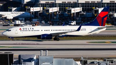 N3766 - Boeing 737-832 - Delta Air Lines