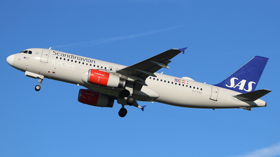 OY-KAO - Airbus A320-232 - Scandinavian Airlines (SAS)