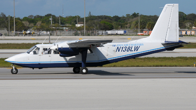 N138LW - Britten-Norman BN-2A-27 Islander - Island Air Charter