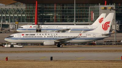 A picture of B1976 - Boeing 73789L - Air China - © Liu Yonggang