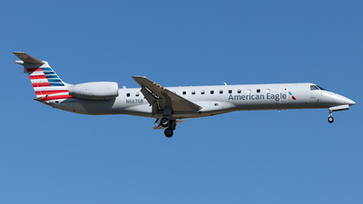A picture of N667GB - Embraer ERJ145LR - American Airlines - © Yixin Chen