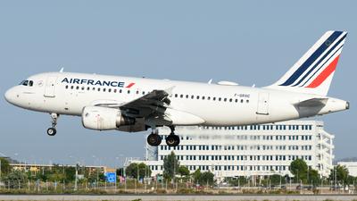 F-GRXC - Airbus A319-111 - Air France