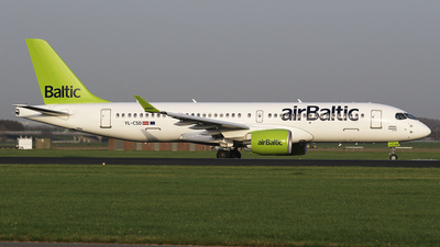 YL-CSD - Bombardier CSeries CS300 - Air Baltic
