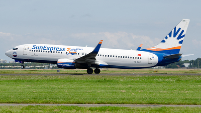 A picture of TCSOT - Boeing 7378Z9 - SunExpress - © Paul Stam