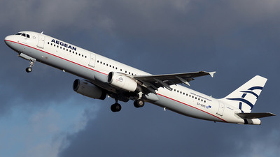 A picture of SXDVO - Airbus A321231 - Aegean Airlines - © Oksana
