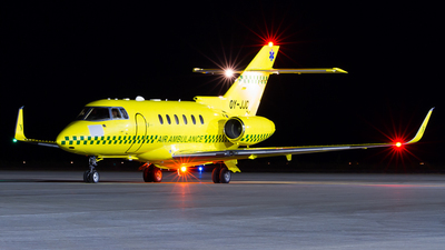 OY-JJC - Hawker Beechcraft 800XP - Sun-Air of Scandinavia