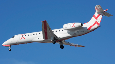 A picture of N268JX - Embraer ERJ135ER - JSX - © Jordan Louie
