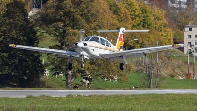 HB-PDX - Piper PA-28RT-201T Turbo Arrow IV - Aero Club - Montagnes Neuchâteloises