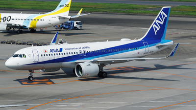 JA211A - Airbus A320-271N - All Nippon Airways (ANA)