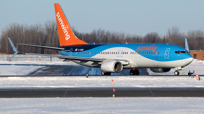 C-GFWD - Boeing 737-8K5 - Sunwing Airlines